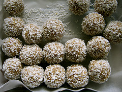 Goodness gracious, great balls of coconut!