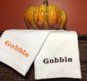 gobble gobble napkins